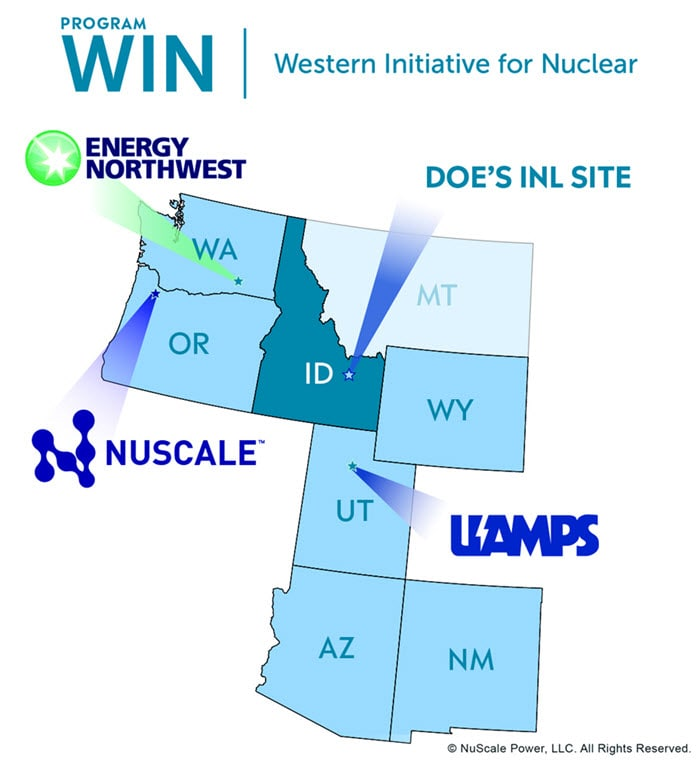 Western Initiative for Nuclear Map