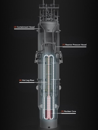 NuScale Reactor Diagram